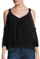 Rebecca Minkoff Cherbourg Cold-Shoulder Top