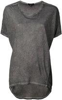 Unconditional short-sleeved T-shirt - women - Silk/Cotton - S