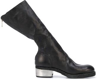 Guidi metal heel boots