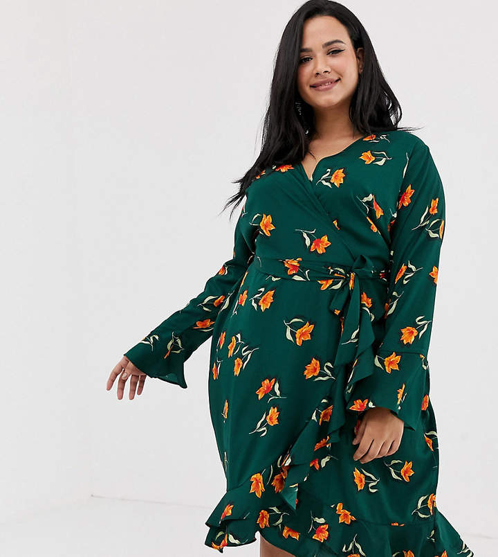 8f7aa2624b Plus Size Wrap Dress - ShopStyle UK