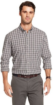 Arrow Men's Hamilton Plaid Poplin Button-Down Shirt