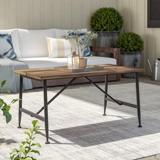 Cabarley Solid Wood Coffee Table Gracie Oaks