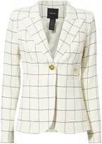 Smythe Duchess Windowpane Blazer
