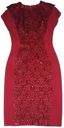 Antonio Berardi Red Cotton Dress for Women