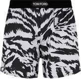 Tom Ford Silk Tiger Print Boxers