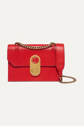 Christian Louboutin Elisa Small Leather Shoulder Bag - Red