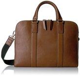 Fossil Men's Mayfair Leather Double Zip Workbag