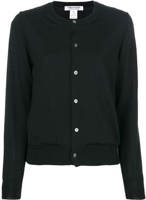 Comme des Garçons Comme des Garçons Long Sleeved Buttoned Cardigan