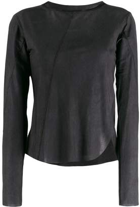 Song For The Mute asymmetric lightweight top