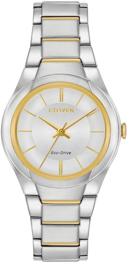 Citizen Eco-Drive Women's Paradigm Two Tone Stainless Steel Watch - FE2094-51A