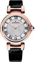 Edox Women's 57002 37RC AR LaPassion Analog Display Swiss Quartz Black Watch