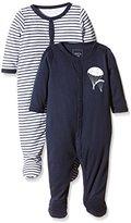Name It Baby Boys NITNIGHTSUIT W/F NB B NOOS Sleepsuit
