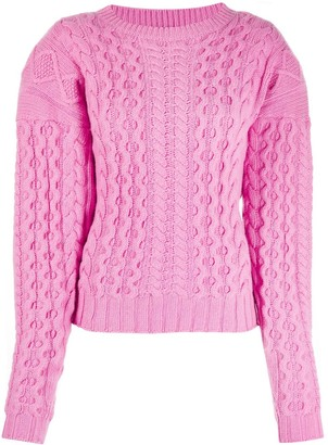 Andamane Cable-Knit Jumper