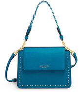 Henri Bendel Stanton Mini Studded Crossbody with Woven Strap