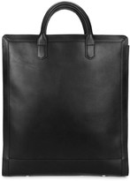 A.p.c. Gilles Black Leather Tote