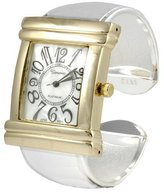Silver Bin SilverBin Geneva Platinum Women's Large Number Dial Watch