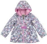Osh Kosh Baby Girl Midweight Floral Fleece-Lined Jacket