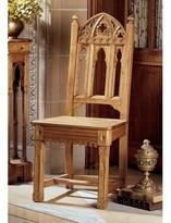 Toscano Sudbury Pine Gothic Solid Wood Dining Chair Design Quantity: Set of 2