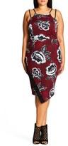 City Chic Plus Size Women's L'Amour Floral Print Dress
