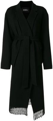 GOEN.J Double-Faced Belted Coat