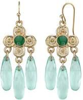 1928 Quatrefoil Chandelier Earrings