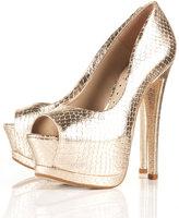 SERENADE2 Peep Toe Platform Shoes