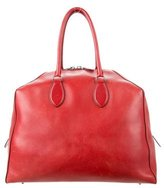 Alaia Structured Leather Tote