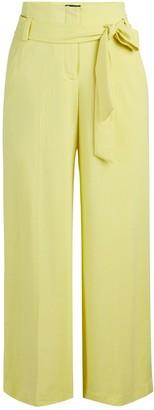 New York & Co. Petite Madie Wide-Leg Capri Pant - 7th Avenue