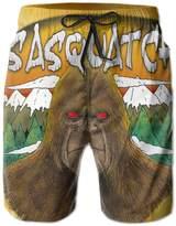 Bmen Sasquatch Men's Summer Board Shorts XXL