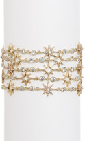 Jenny Packham Multi Row Pave Crystal Star Bracelet
