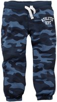 Carter's Knit Fleece Pants (Baby) - Blue Camo-18 Months