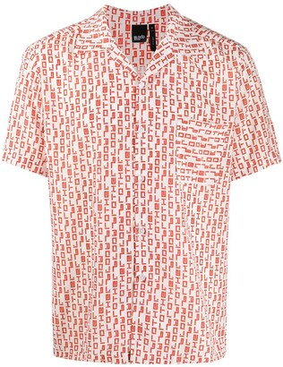 Blood Brother Raoul abstract-print shirt