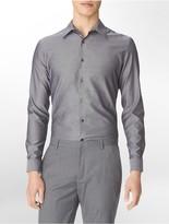 Calvin Klein Slim Fit Chambray Button Front Shirt