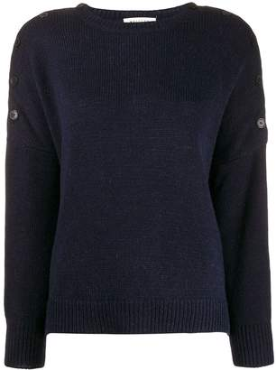 Masscob buttoned shoulders jumper