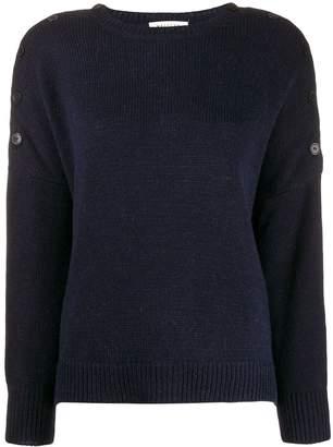 Masscob buttoned shoulders jumper