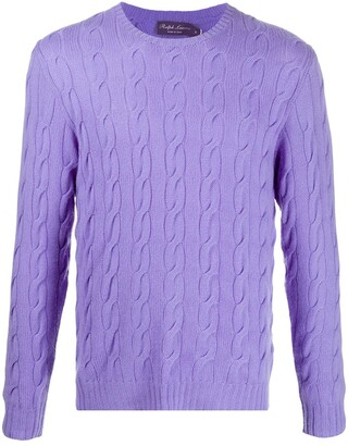Ralph Lauren Cable-Knit Cashmere Jumper