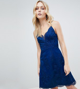 Chi Chi London Tall Premium Lace Mini Dress
