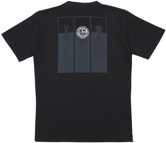 Stone Island Printed Cotton Jersey T-Shirt