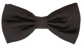 Dolce & Gabbana Silk-rep Bow Tie - Black