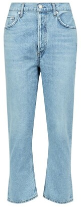 AGOLDE Riley Straight Crop Jeans