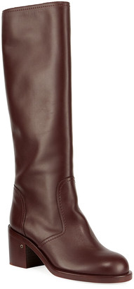 Laurence Dacade Smooth Leather Knee Boots
