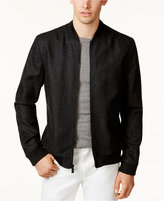 Calvin Klein Men's Heathered Bomber Jacket