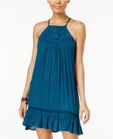 Volcom Juniors' Emrbroidered A-Line Dress