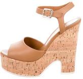 Fendi Cork Platform Sandals