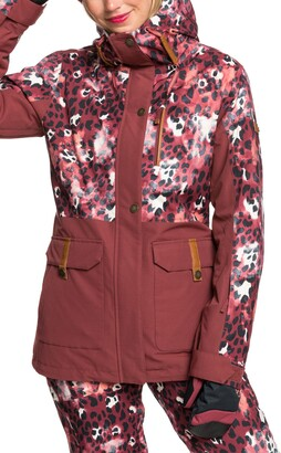 Roxy Andie Waterproof Parka Snow Jacket