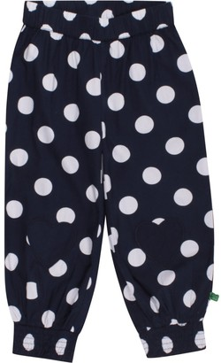 Green Cotton Fred's World by Baby Girls' Spot poplin Pants Trousers