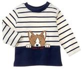 Gymboree Corgi Stripe Top