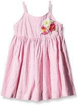Benetton Girl's 4R4ZLV360 Dress,(Manufacturer Size:18-24 Months)