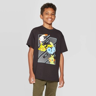 Pokemon Boys' Short Sleeve T-Shirt -
