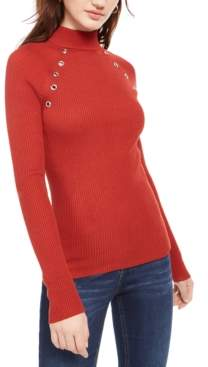 Planet Gold Juniors' Turtleneck Sweater